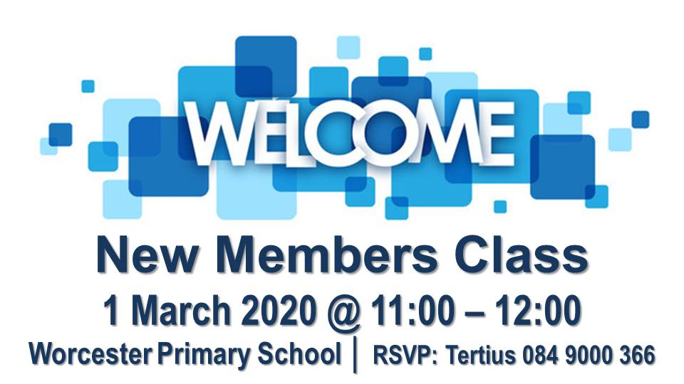 new members class - 1march2020